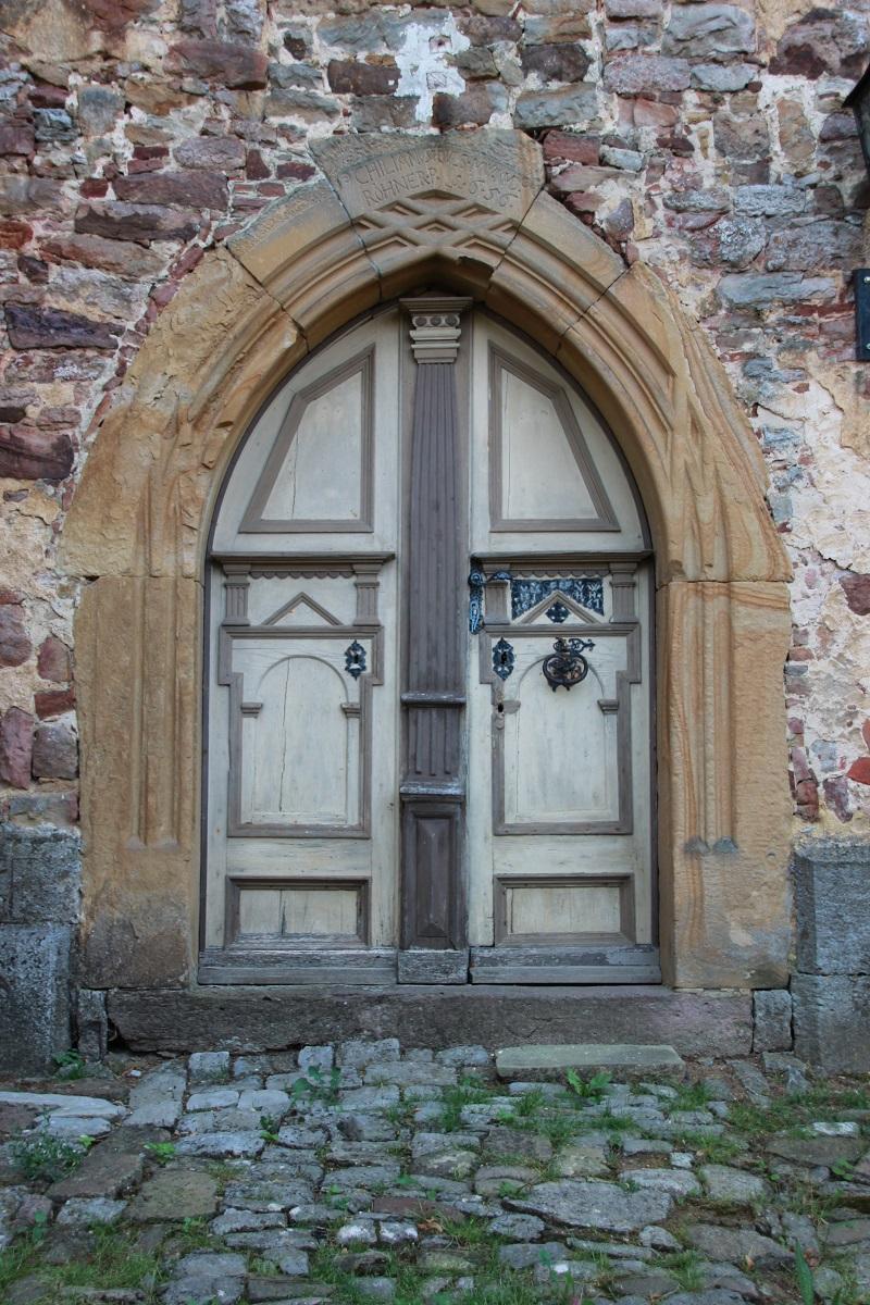 Kirchentür Behrungen