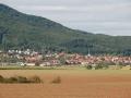 Blick auf Gleichamberg