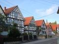 Häuserzeile Gleichamberg