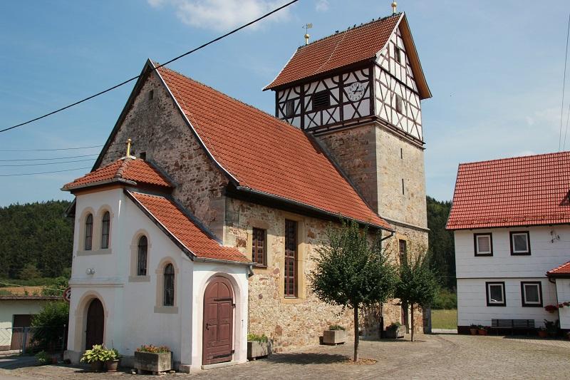Kirche Rentwertshausen